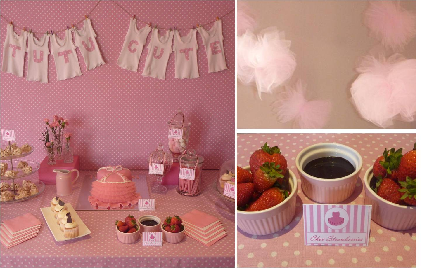 Baby Shower Table Ideas For A Girl