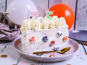 Gâteau de demi-anniversaire