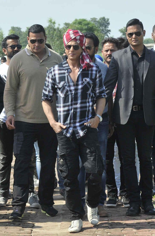Shah Rukh Khan Promotes 'Harry Met Sejal' In Ludhiana