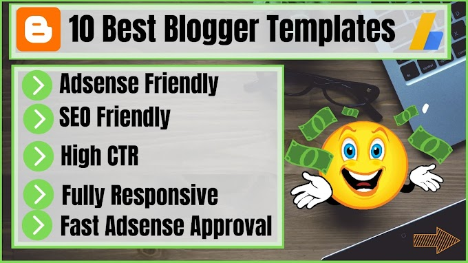 Top 10 free blogger templates