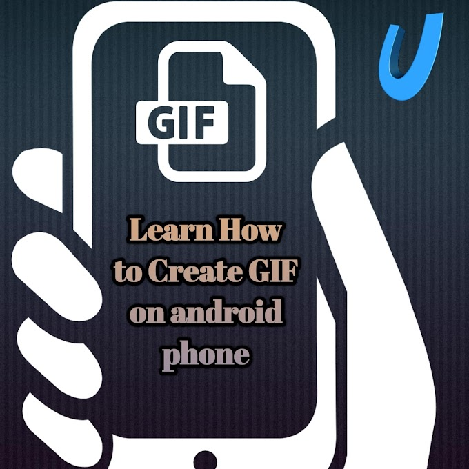Learn how to  make gif with images on Mobile | अपने मोबाइल फोन पर फोटो से GIF बानाए
