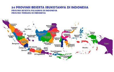 provinsi terbaru indonesia