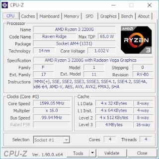 cara melihat spesifikasi laptop menggunakan cpu-z