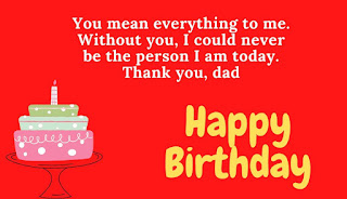 best birthday wishes for dad