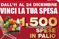 Logo Concorso '' Vinci la tua spesa'': in palio 1.500 spese gratis