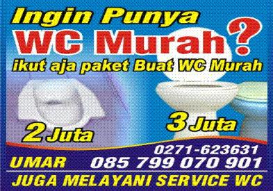 WC Murah kota Solo