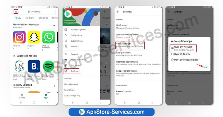 تحديث سوق بلاي 2021 - تنزيل Google Play Store 24.5.14 أخر إصدار