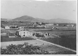 Cal Tres y el Samontà de L'Hospitalet (1905)