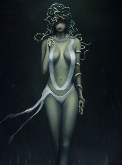 Мистическое существо : Гаргона