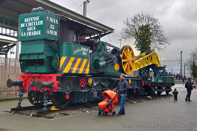 Train World Best Places to visit in Brussels with kids