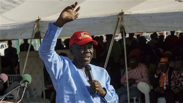 Zimbabwe's opposition leader Morgan Tsvangirai rejects coalition deal