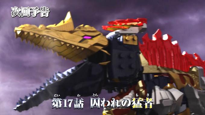 Spoiler Kishiryu Sentai Ryusoulger Episode 17, Debut Ryusoul SpinoThunder