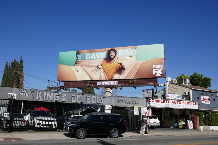 Dave FXX series billboard