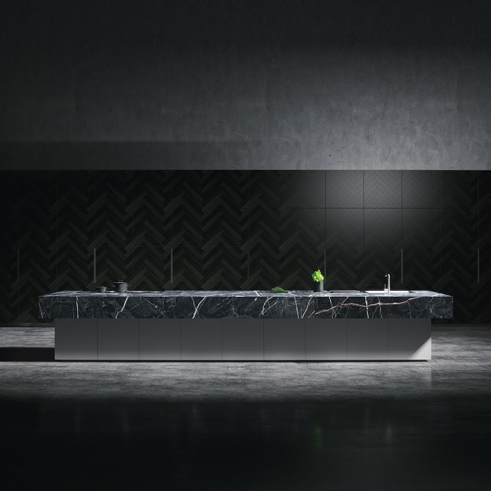 textured-black-kitchen-marbled-benchtop-concrete-floor