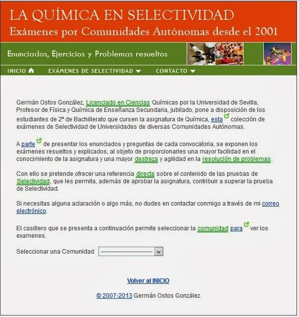 http://www.spaindata.com/quimica/index.html