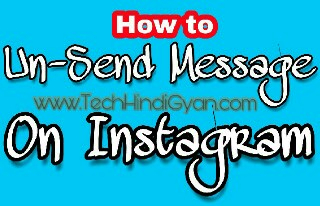 Un-Send Message on Instagram | Instagram Hidden Tips & Tricks