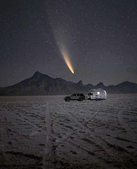 Utah, USA  Neowise