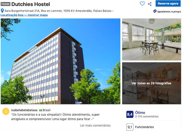 Dutchies Hostel em Amsterdã