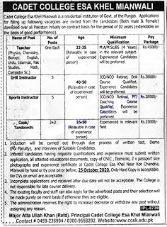 cadet-college-mianwali-jobs