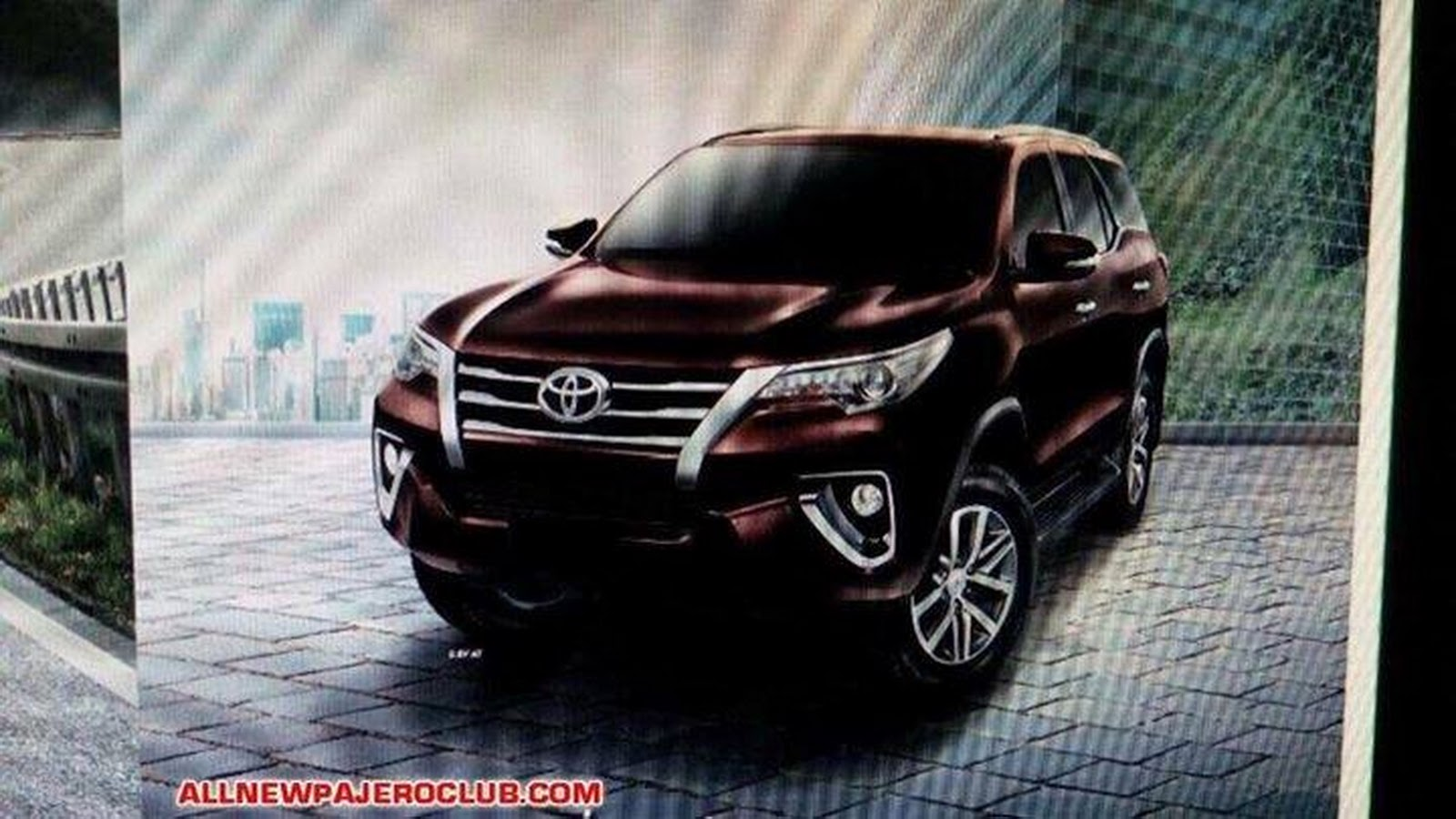 New 2016 Toyota Fortuner Suv This Is It Carscoops