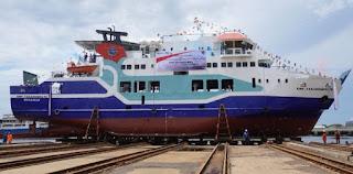 PT ASDP Siap  Operasikan 4 Kapal Penyeberangan Perintis Baru