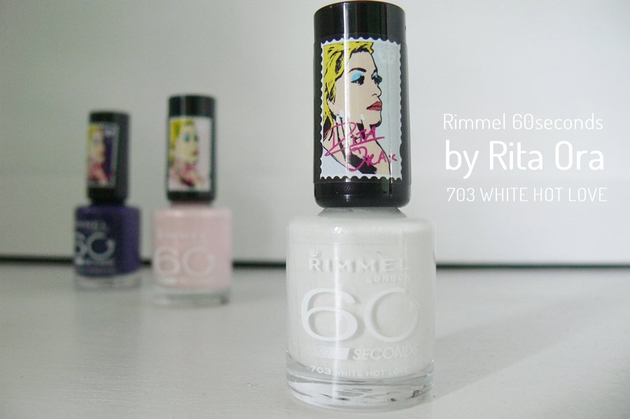 Rimmel 60seconds by Rita Ora White Hot Love