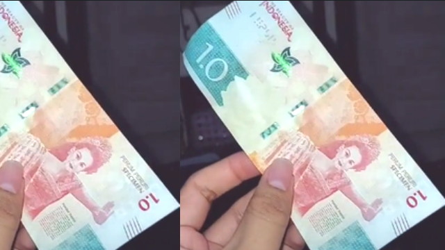 Uang specimen 1.0 bisakah buat pembayaran ?