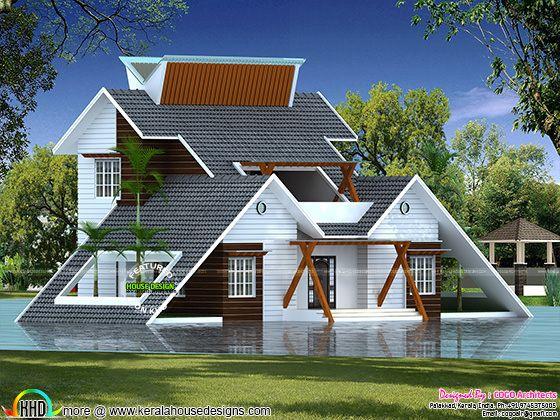 Creative home architectural design