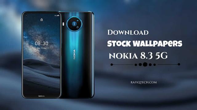 تحميل خلفيات نوكيا 8.3 Nokia الأصلية بجودة عالية الدقة ✓