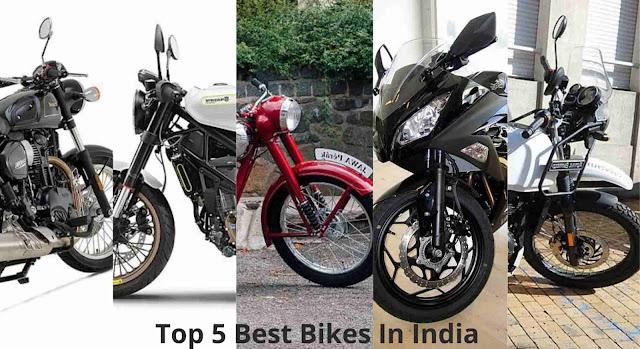 Top 5 Best Bikes In India
