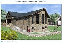 Гостевой дом с бассейном в д. Говядово Ивановского района Ивановской области. Общий вид