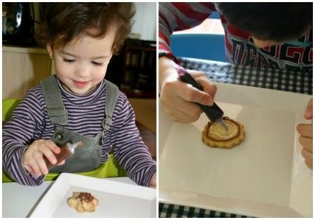 manualidad infantil hacemos galetas