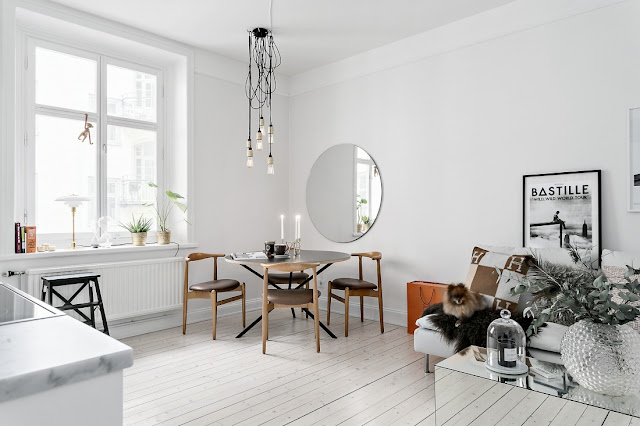 Perfect scandinavian elegance in a smaller space