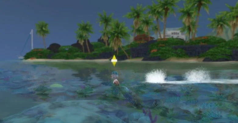 How to stop being a mermaid in The Sims 4: Island Living