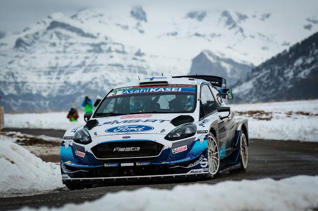 Fiesta WRC in Monte Carlo Stage