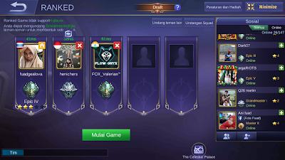 Tips Agar Push Rank di Mobile Legend Dapat Menang Terus