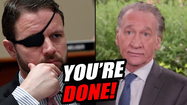 Former Navy SEAL cheered for his 'takedown' of Bill Maher; Dan Crenshaw, future president?