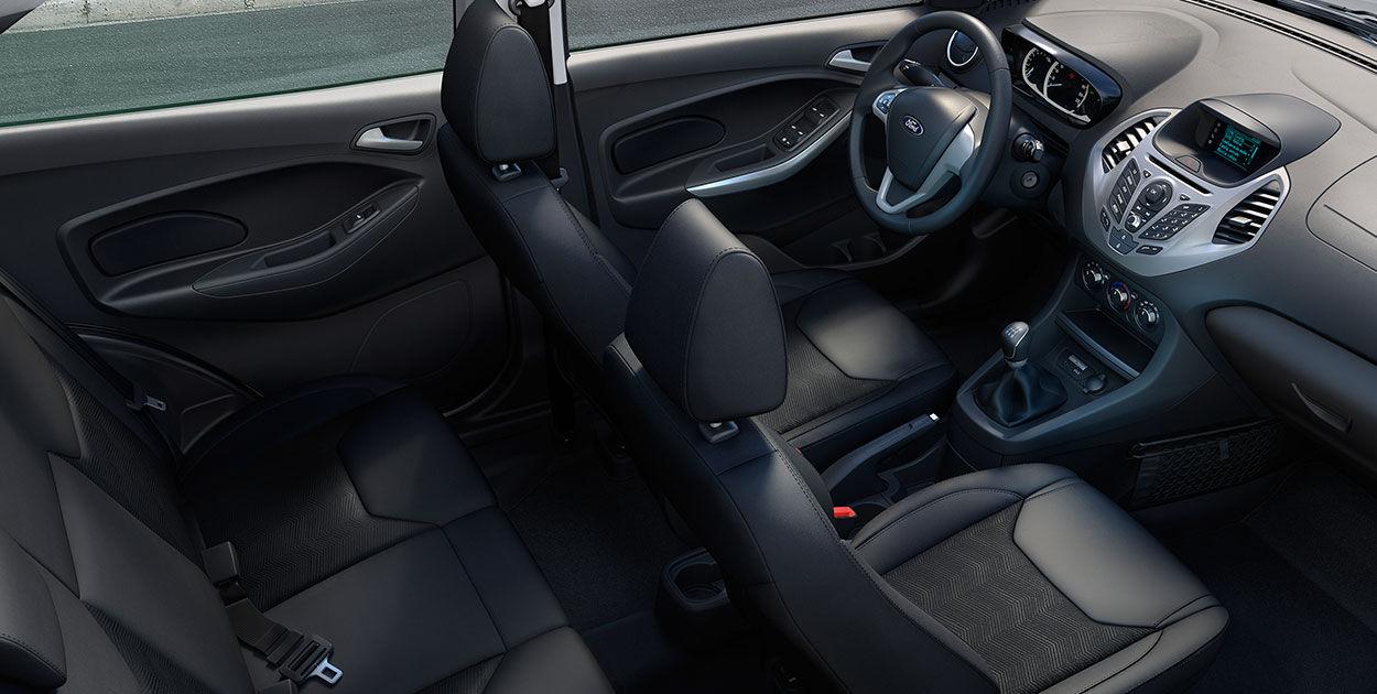 O Ford Ka Se   Vem De Serie Com Ar Condicionado Direcao Eletrica Vidros Eletricos Dianteiros Travas Eletricas Com Controle Remoto Direcao Com Ajuste