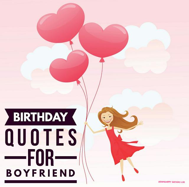 Wishing Happy Birthday To Boyfriend