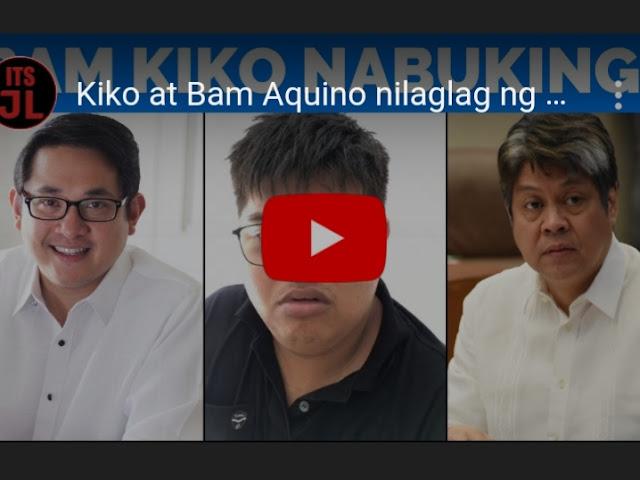 WATCH: Paninira sa Duterte Admin ikinanta ng Blogger na bayaran ni Kiko at Bam