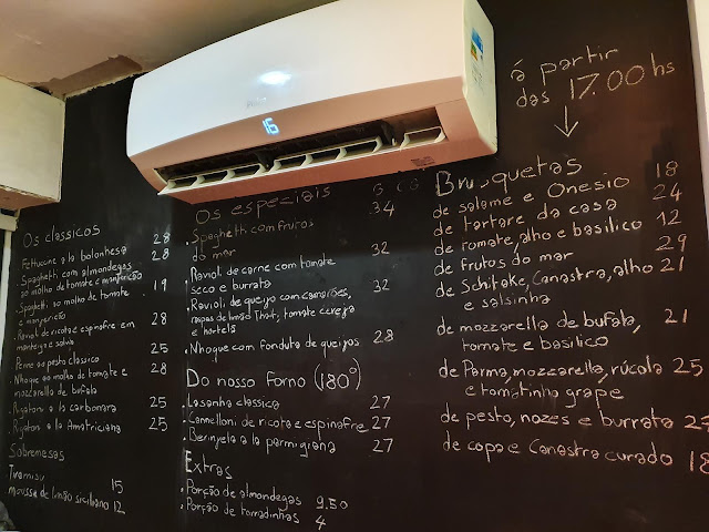 Blog Apaixonados por Viagens - Onde comer no Rio - O Macarrão - Botafogo