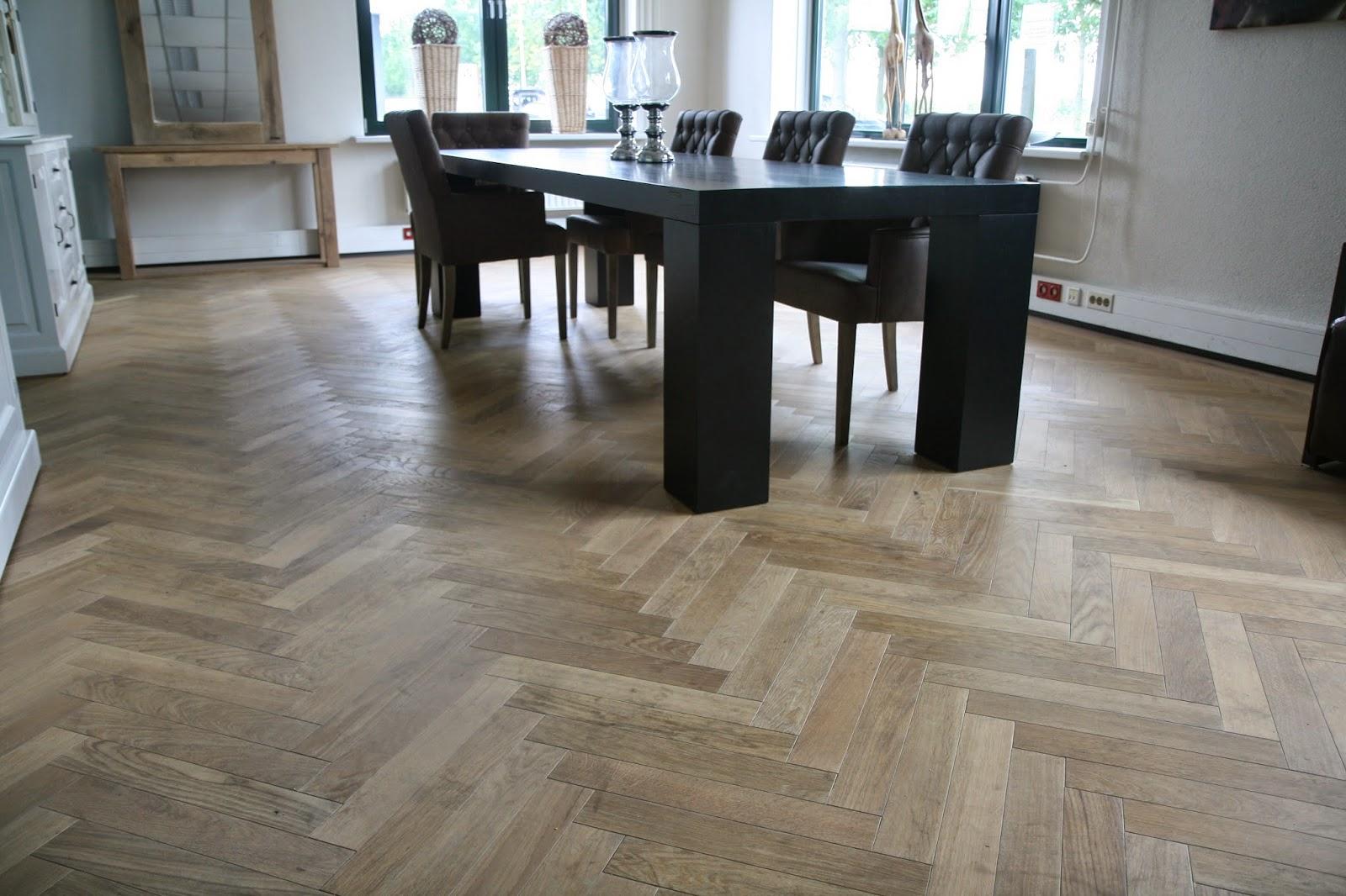 Visgraat vloeren fairwood
