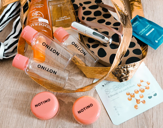 Notino Travel ponúka praktické plastové obaly na kozmetiku