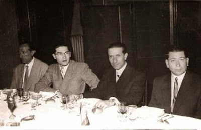 Comida de despedida del Match Internacional de Ajedrez Interclubs 1951 12