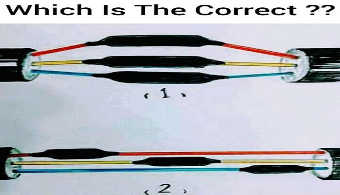 الطريقة الصحيحة لربط الاسلاك الكهربائية معا لمهندس الكهرباء which is correct cables jointing