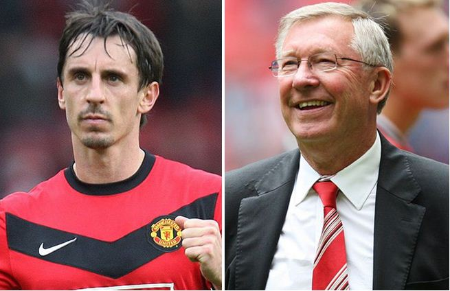 How Ferguson used to intimidate referees - Gary Neville reveals
