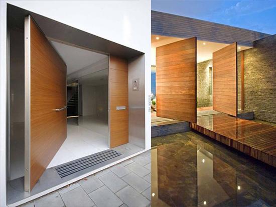model Desain Pintu Besar Minimalis