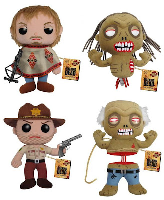 "The Walking Dead 7"" Plushies (Funko)"
