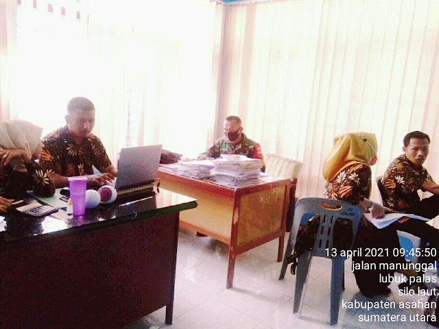 Perbaharui Data Kewilayah, Personel Jajaran Kodim 0208/Asahan Laksanakan Pul Data Ter Diwilayah Binaan