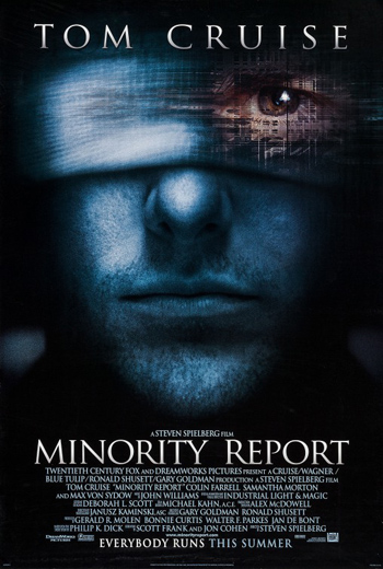 Minority Report 2002 Dual Audio ORG Hindi 480p BluRay 400MB ESubs poster